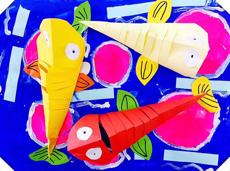 哎咔儿童创意美术加盟实例图片