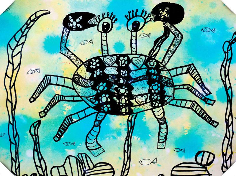 哎咔儿童创意美术加盟案例图片