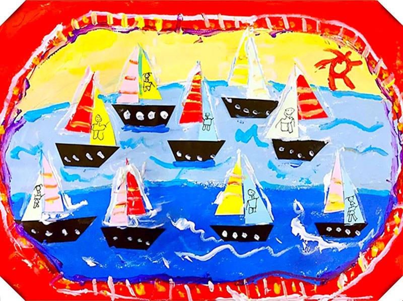 哎咔儿童创意美术加盟图片1