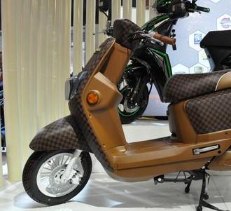 绿能电动车加盟图片