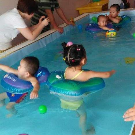 千优名赞婴儿游泳馆加盟图片