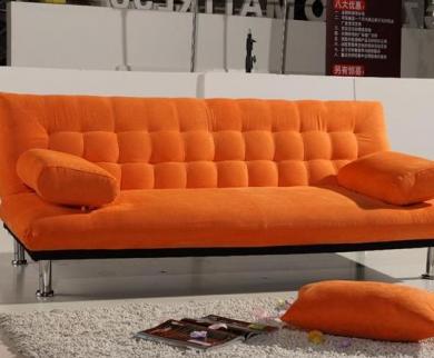 半日沙发床加盟实例图片