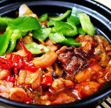 鲁记黄焖鸡米饭