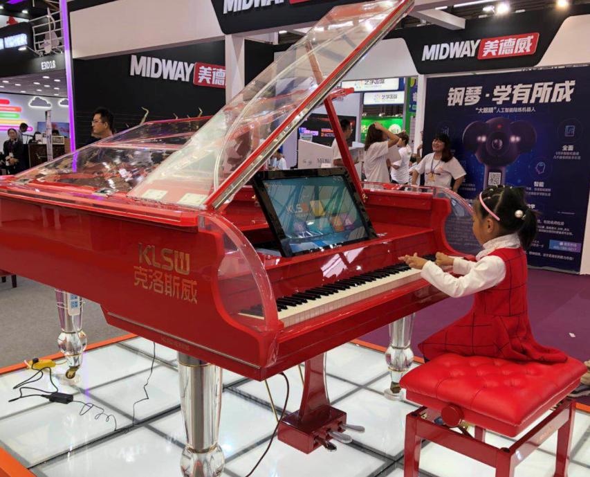 克洛斯威智能钢琴加盟图片