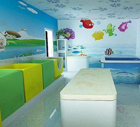 玲珑门婴儿游泳馆加盟图片