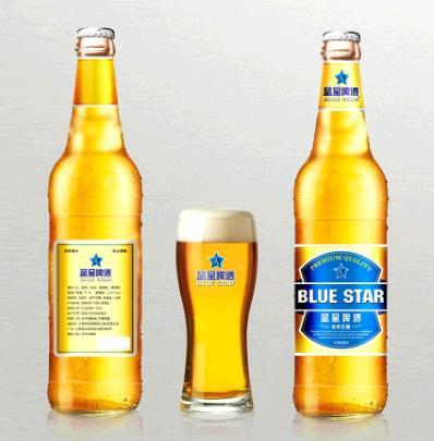 蓝星啤酒加盟图片