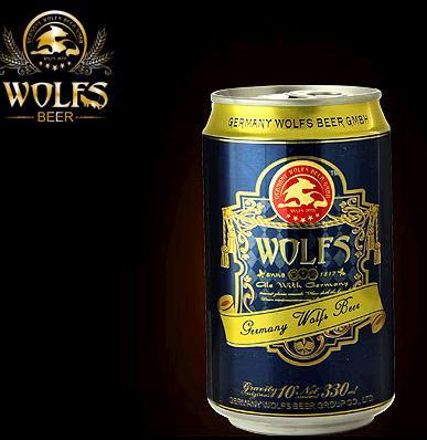 狼堡啤酒加盟图片