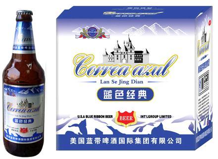 蓝带wang啤酒