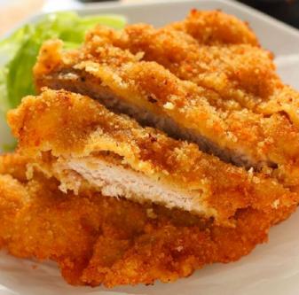 米粟米日式炸猪排