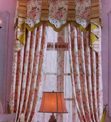 馨兰芙曼窗帘加盟图片