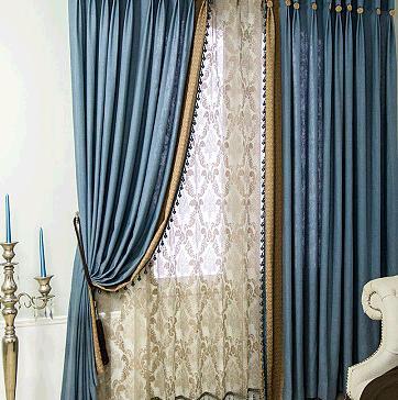 地中海窗帘加盟图片