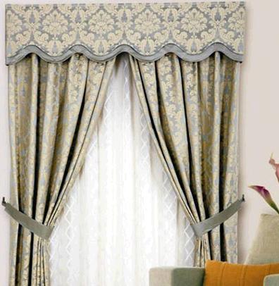地中海窗帘