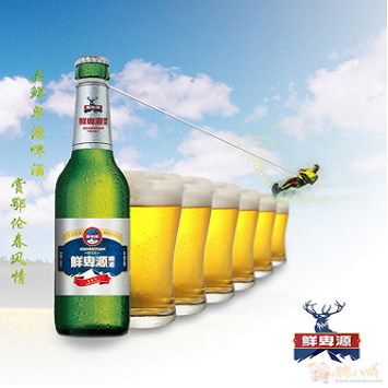 鲜卑源啤酒加盟图片