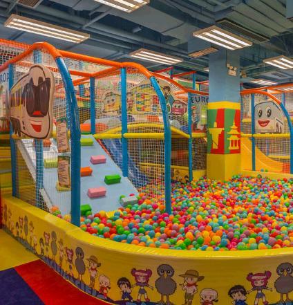 全美游乐儿童乐园加盟图片