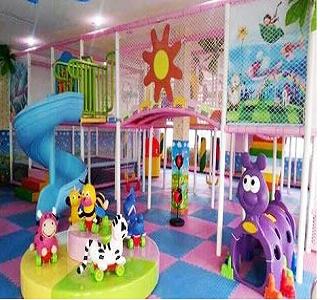 家宝贝儿童游乐园加盟图片