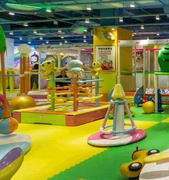 开心E佰儿童游乐园加盟图片