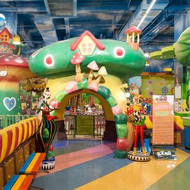 开心E佰儿童游乐园加盟