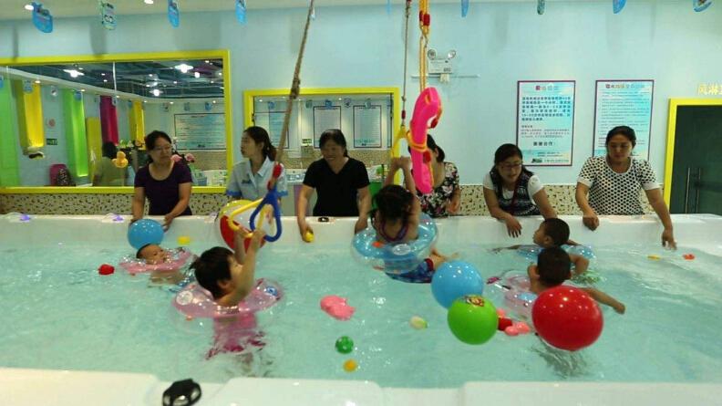 泉贝儿婴儿游泳馆加盟费用