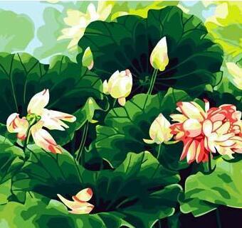 尚典蒙娜丽莎数字油画加盟图片