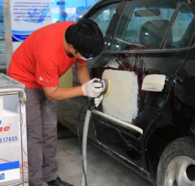 华越品牌汽车美容加盟图片