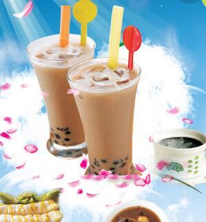 黑小黑奶茶加盟图片