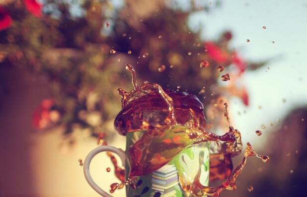 甘度奶茶加盟图片