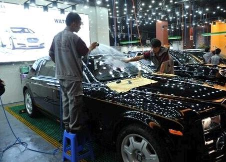 洗车人家汽车美容店面效果图