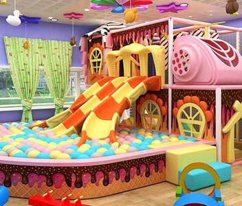 童色儿童乐园加盟案例图片