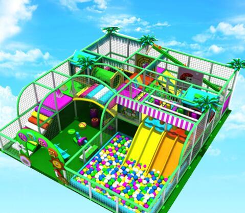 丽贝尔儿童乐园加盟案例图片