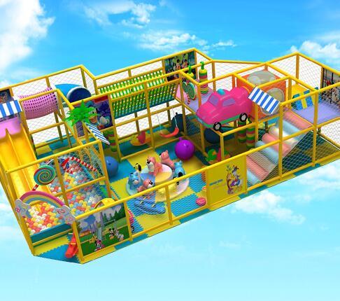 丽贝尔儿童乐园加盟实例图片