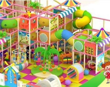 newleshi儿童乐园加盟图片