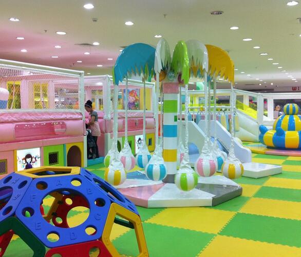 网通儿童乐园加盟图片