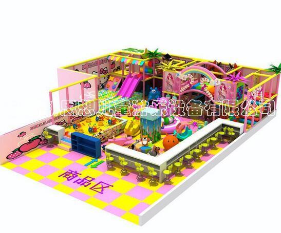 新思想儿童乐园加盟图片