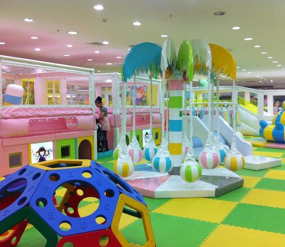 凡立美儿童乐园加盟图片