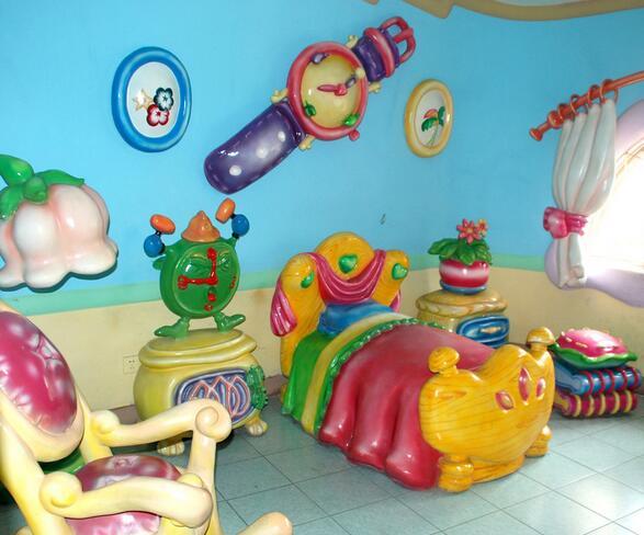 华麦儿童乐园加盟图片