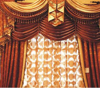 189布艺窗帘加盟图片