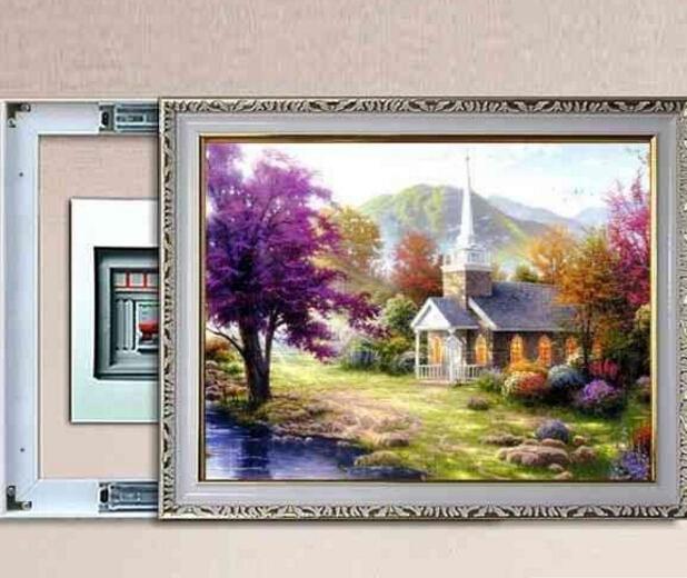 配电箱装饰画加盟图片