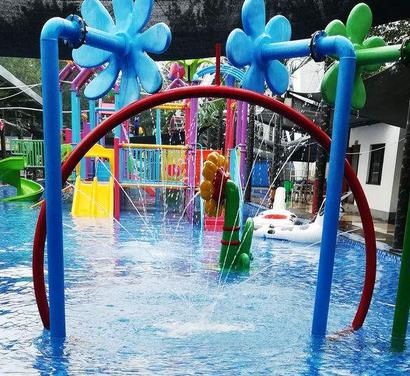 开心岛儿童游泳馆加盟图片