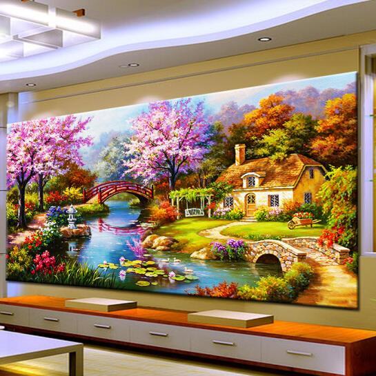 金石全景画加盟图片