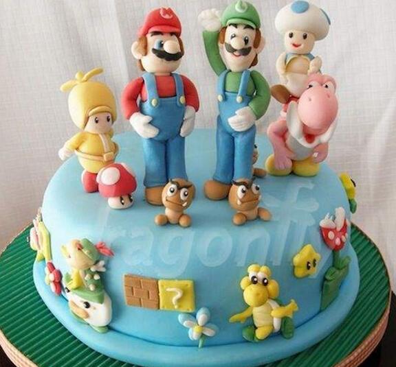 马里奥蛋糕加盟图片