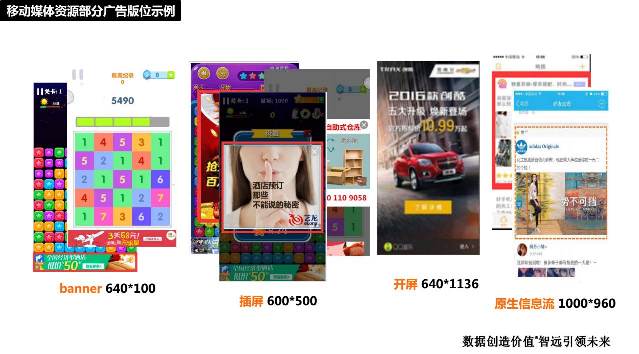 智远新媒体广告平台店面效果图