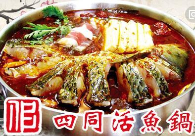 四同活魚鍋