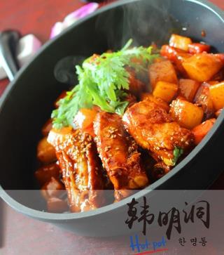 韩明洞三汁焖锅加盟图片