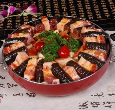 香姥姥草袋饭焖锅加盟图片