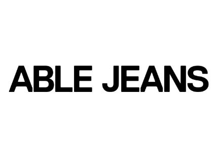 able jeans牛仔