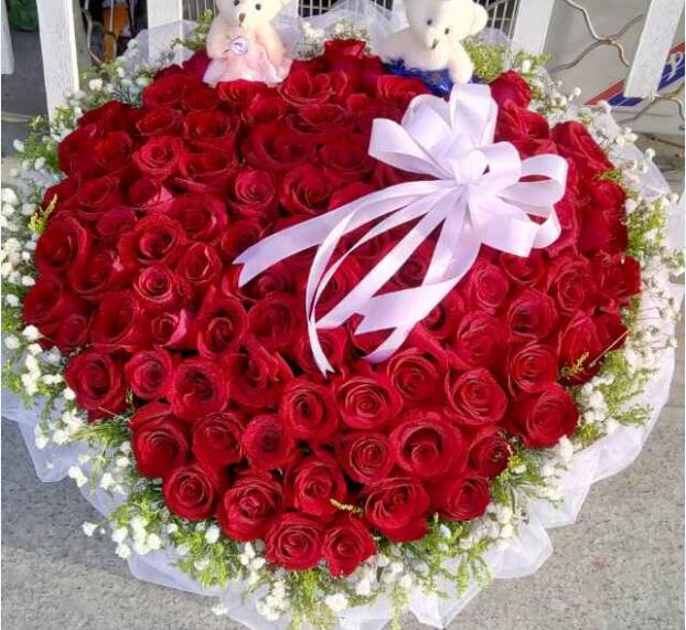 花之恋鲜花店加盟图片