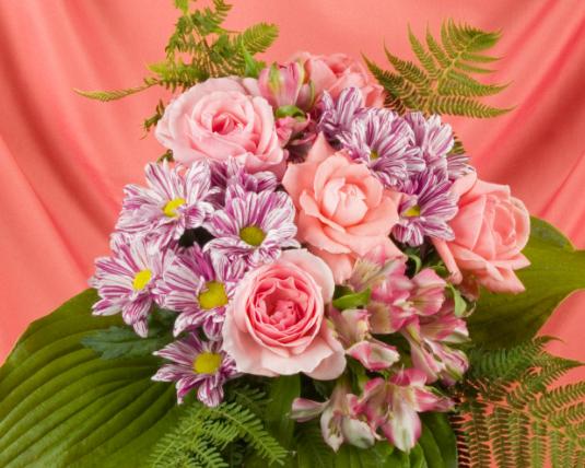 莎啦啦鲜花网加盟图片