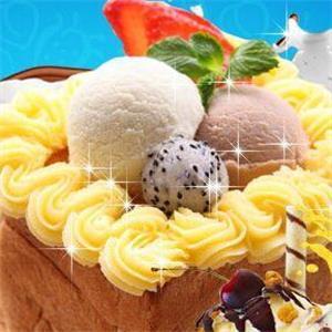爱冻冰淇淋加盟图片