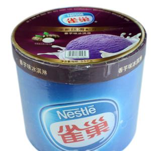 雀巢桶装冰淇淋加盟图片