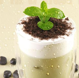 华扬奶茶加盟图片